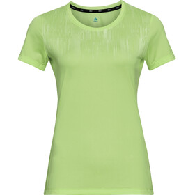 Odlo Element Light Print T-Shirt Manches Courtes Col Ras-Du-Cou Femme, tomatillo/graphic20